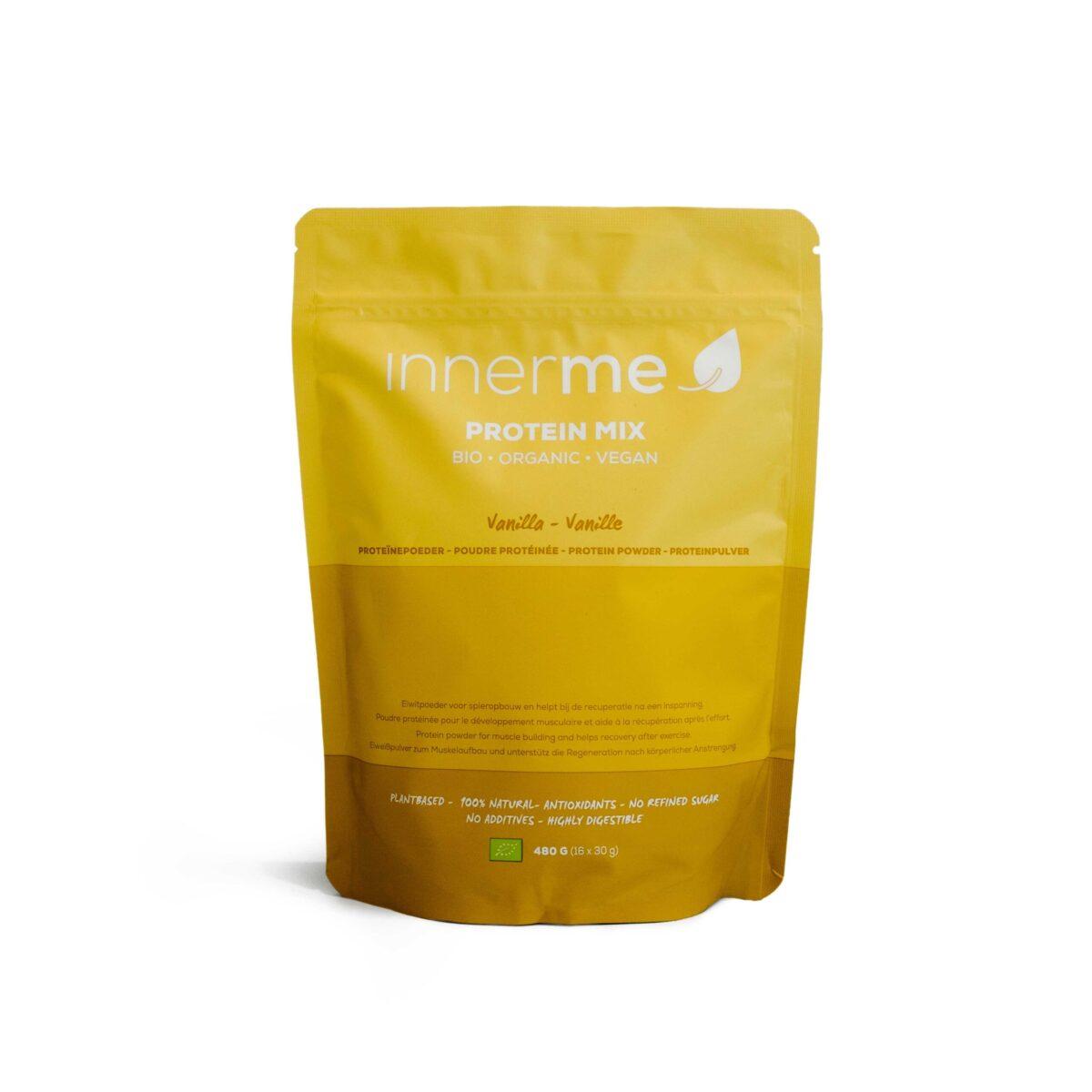 Mix Proteína Baunilha Bio & Vegan Innerme (480g) - Moonsport