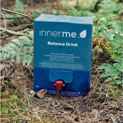 Bebida Desportiva Balance Bio Innerme, 100% Natural, Biológica e Vegan - Moonsport