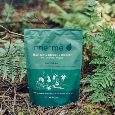 Bebida Energética Isotónica Fruta Innerme (520 g) - 100% Natural, Biológica e Vegan -, mata a sede, eleva o teu desempenho desportivo e acelera a recuperação. Moonsport