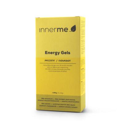 Gel Energético Endurance Innerme, vegetariano (caixa de 5) - Moonsport