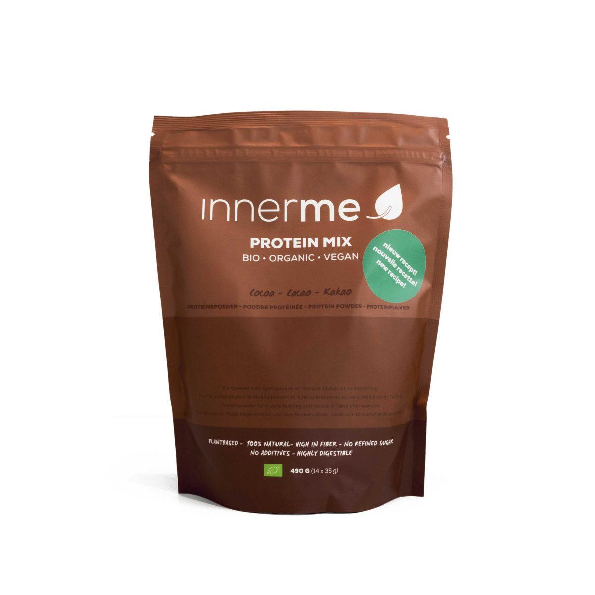 Mix Proteína Cacau Bio INNERME - embalagem de 490g