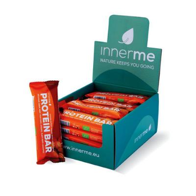Barra Proteica Amêndoa - Alperce Bio & Vegan Innerme - (caixa de 20) Moonsport